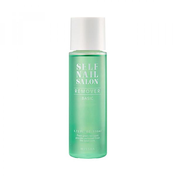 W-[MISSHA] Self Nail Salon Remover (Basic) - 110ml x 10ea
