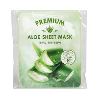 [MISSHA] Premium Aloe Sheet Mask - 1pack (5pcs)