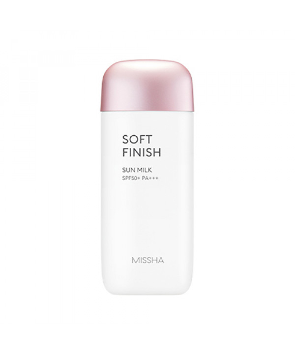 [MISSHA_45% SALE] All Around Safe Block Soft Finish Sun Milk - 70ml (SPF50+ PA+++)