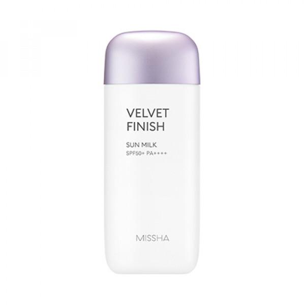 [MISSHA] All Around Safe Block Velvet Finish Sun Milk - 70ml (SPF50+ PA++++) (New)