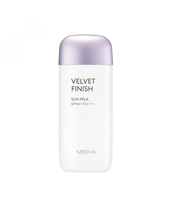 [MISSHA_45% SALE] All Around Safe Block Velvet Finish Sun Milk - 70ml (SPF50+ PA++++) (New)