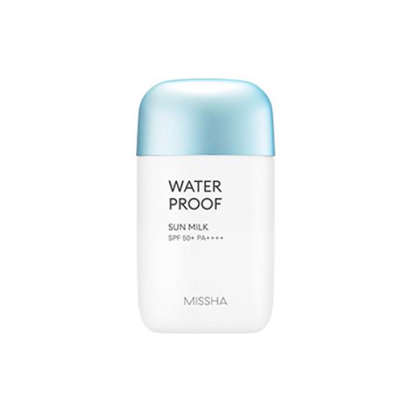 W-[MISSHA] All Around Safe Block Waterproof Sun Milk - 40ml (SPF50+ PA++++) (New) x 10ea