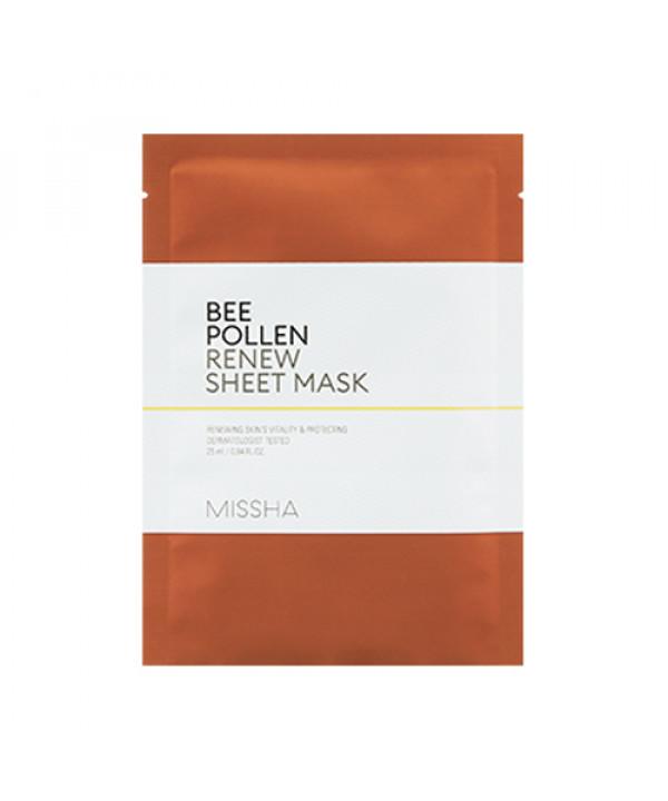 [MISSHA_45% SALE] Bee Pollen Renew Sheet Mask - 1pcs
