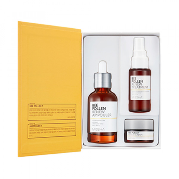[MISSHA] Bee Pollen Renew Ampouler Special Set - 1pack (3items)