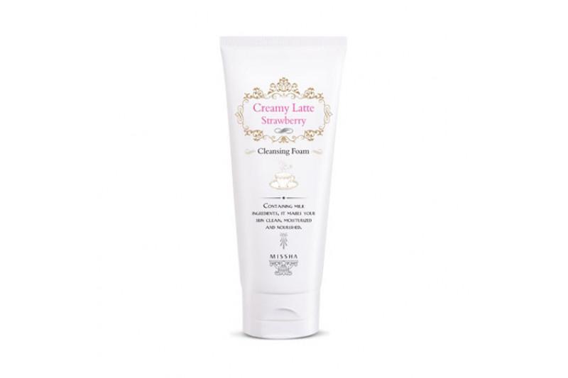 [MISSHA] Creamy Latte Cleansing Foam - 172ml
