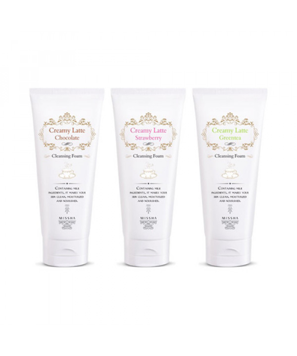 W-[MISSHA] Creamy Latte Cleansing Foam - 172ml x 10ea