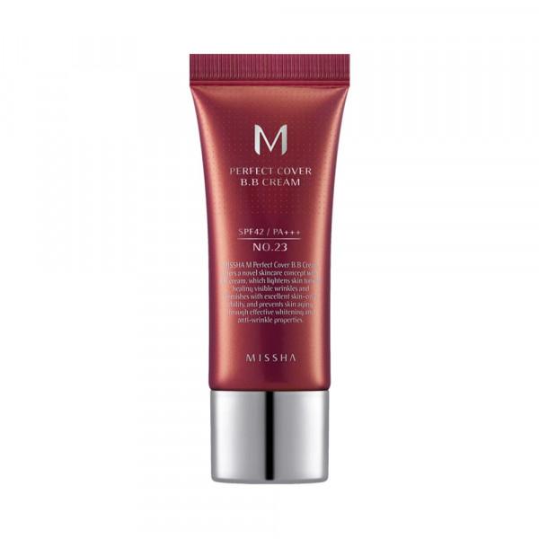 [MISSHA] Perfect Cover B.B Cream - 20ml (SPF42 PA+++)