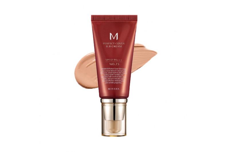 [MISSHA] Perfect Cover B.B Cream - 50ml (SPF42 PA+++)