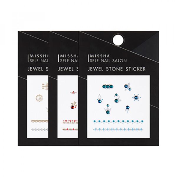 W-[MISSHA] Self Nail Salon Jewel Stone Sticker - 1pcs x 10ea
