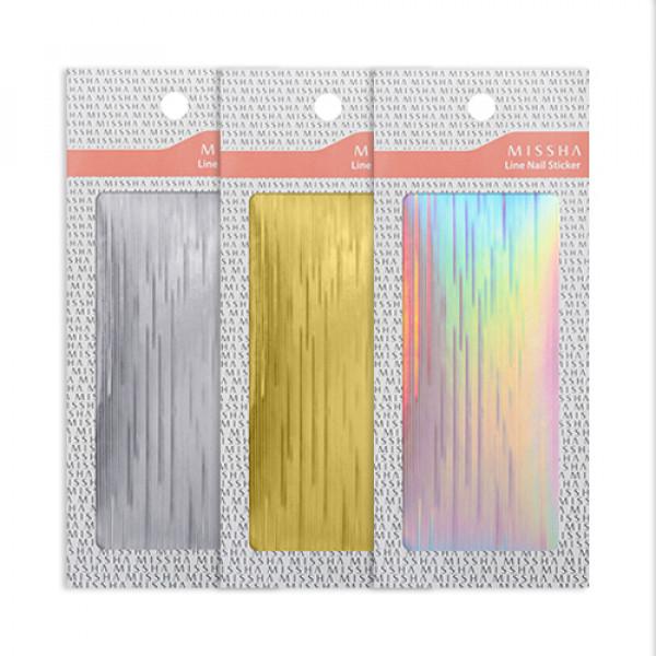 W-[MISSHA] Line Nail Sticker - 1pcs x 10ea
