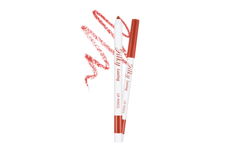 W-[MISSHA] Silky Lasting Lip Pencil - 0.25g x 10ea