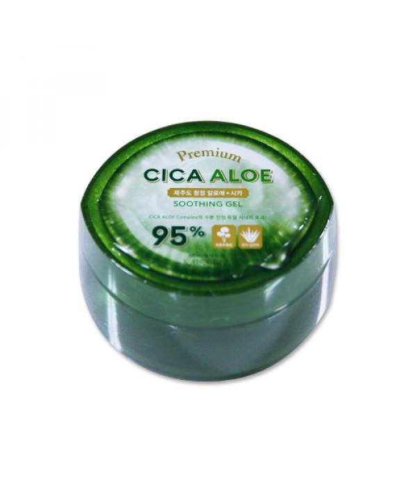 [MISSHA_45% SALE] Premium Cica Aloe Soothing Gel 95% - 300ml