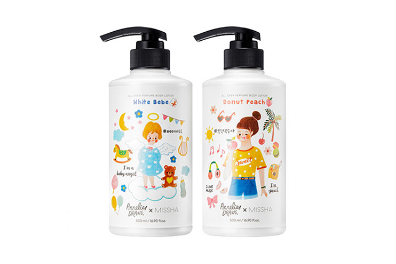 [MISSHA] All Over Perfume Body Wash - 500ml