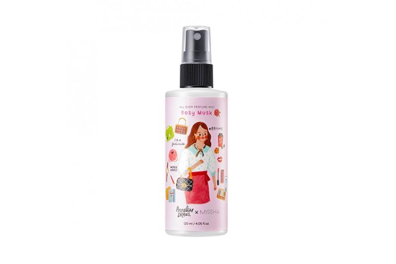 [MISSHA] All Over Perfume Mist - 120ml