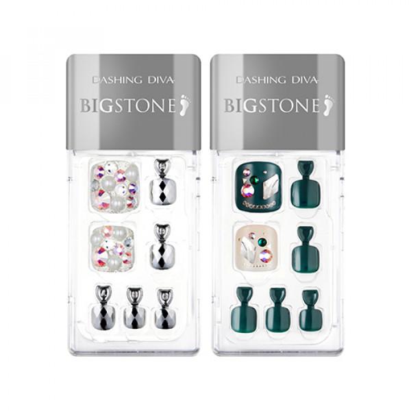 W-[MISSHA] Dashing Diva Magic Press Pedicure Big Stone - 1pack (4items) x 10ea