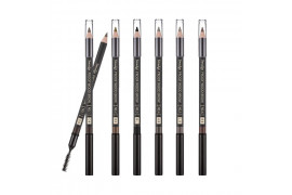 [MISSHA] Smudge Proof Wood Brow - 1pcs