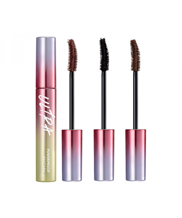 W-[MISSHA] Ultra Powerproof Mascara Curling & Slim - 8g x 10ea