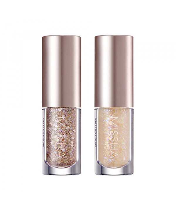 W-[MISSHA] Glitter Prism Liquid Eye Shadow - 3g (Topper) x 10ea