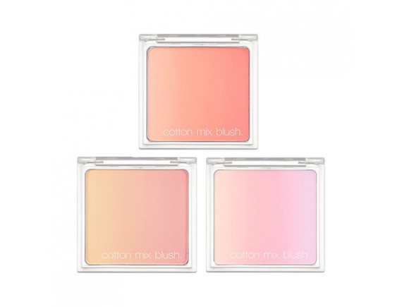 [MISSHA] Cotton Mix Blush - 11g