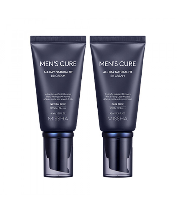 [MISSHA] Men's Cure All Day Natural Fit BB Cream - 40ml