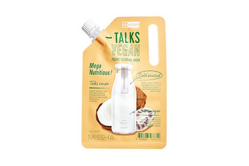 [MISSHA_45% SALE] Talks Vegan Squeeze Pocket Sleeping Mask - 10g