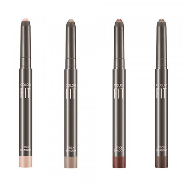 W-[MISSHA] Color Fit Stick Shadow (Shimmer) - 1.1g x 10ea