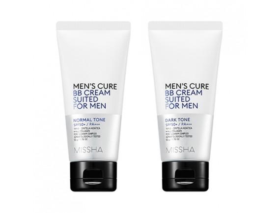 [MISSHA] Men's Cure BB Cream Suited For Men - 50g (SPF50+ PA+++)