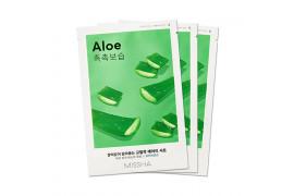 [MISSHA_Sample] Airy Fit Sheet Mask Samples - 3pcs No.Aloe