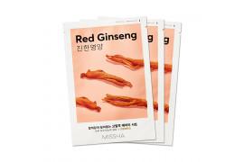 [MISSHA_Sample] Airy Fit Sheet Mask Samples - 3pcs No.Red Ginseng