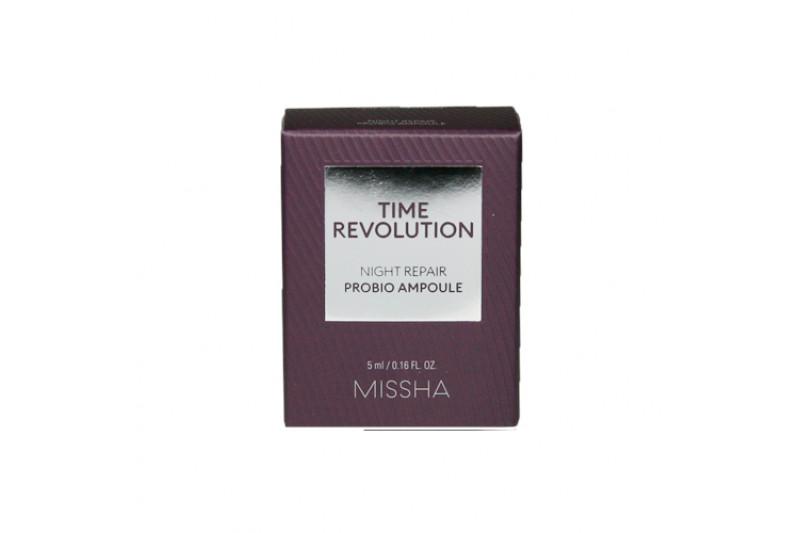 [MISSHA_Sample] Time Revolution Night Repair Probio Ampoule Sample - 5ml