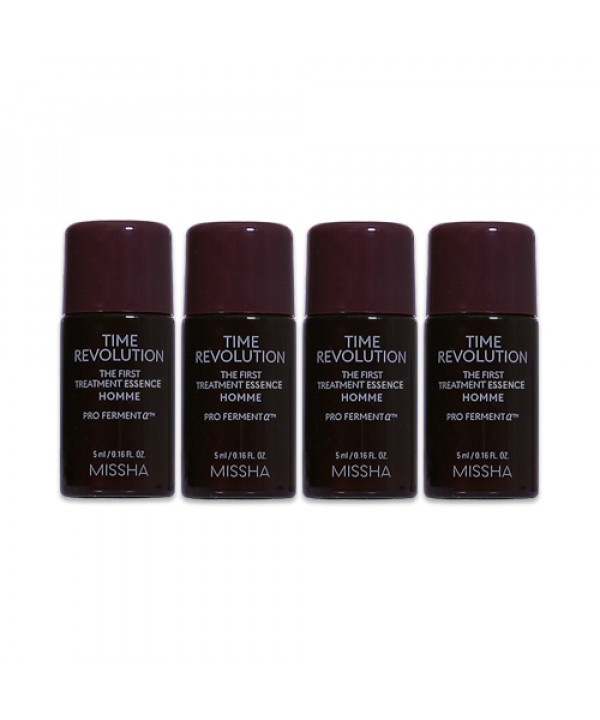 [MISSHA_Sample] Time Revolution Homme The First Treatment Essence Samples - 4ea