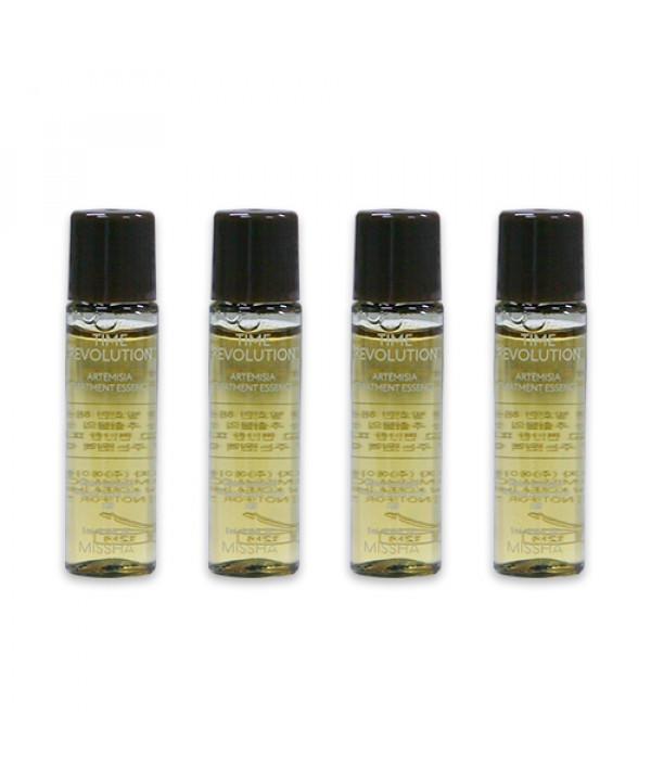 [MISSHA_Sample] Time Revolution Artemisia Treatment Essence Samples - 4pcs