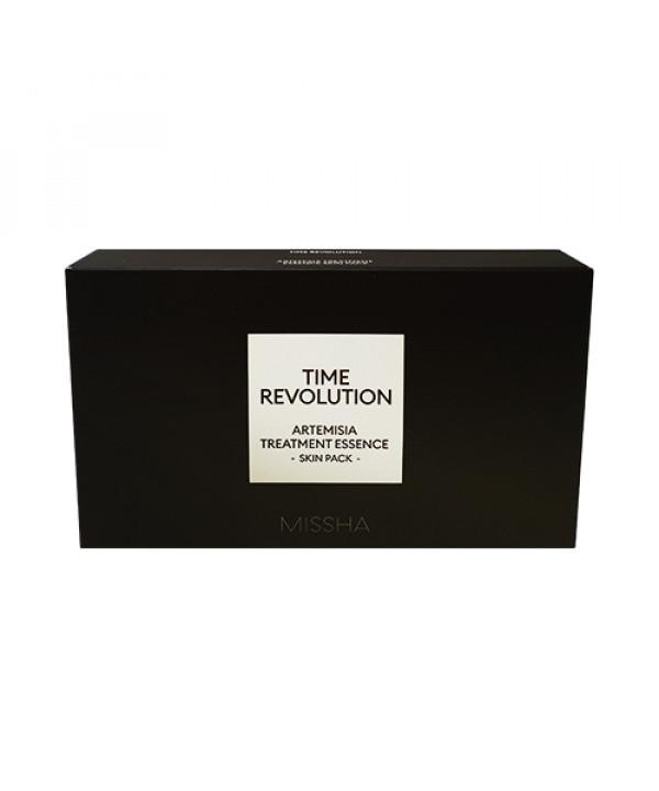 [MISSHA_Sample] Time Revolution Artemisia Treatment Essence Skin Pack Samples - 1pack (2items)