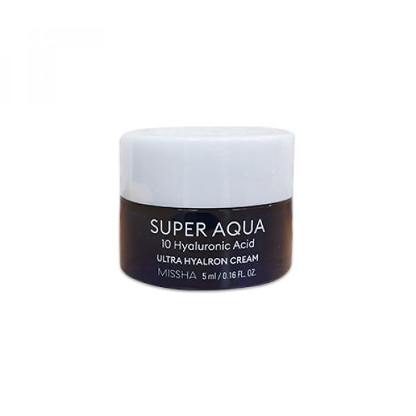 [MISSHA_Sample] Super Aqua Ultra Hyalron Cream Sample - 5ml