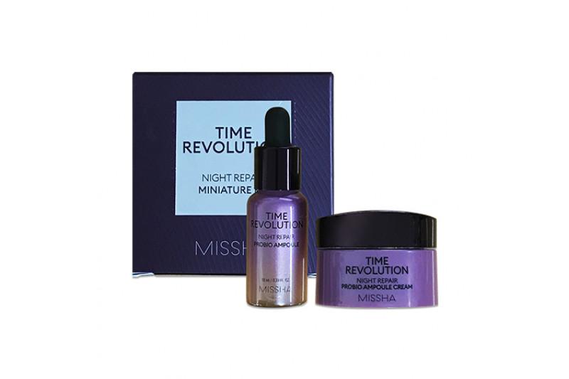 [MISSHA_Sample] Time Revolution Night Repair Miniature Kit Sample - 1pack (2items)