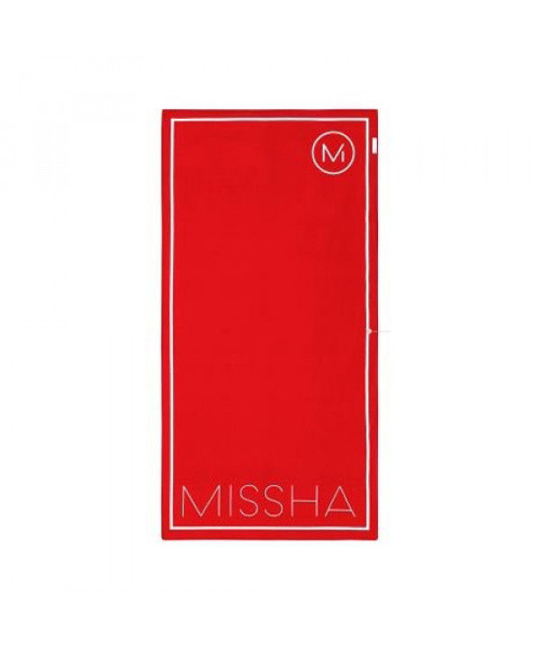 [MISSHA_Sample] Dare Red Beach Towel Sample - 1pcs