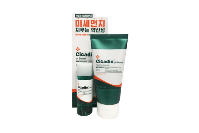 [MISSHA_Sample] Cicadin pH Blemish Anti Pollution 2 Piece Kit Sample - 1pack (2items)