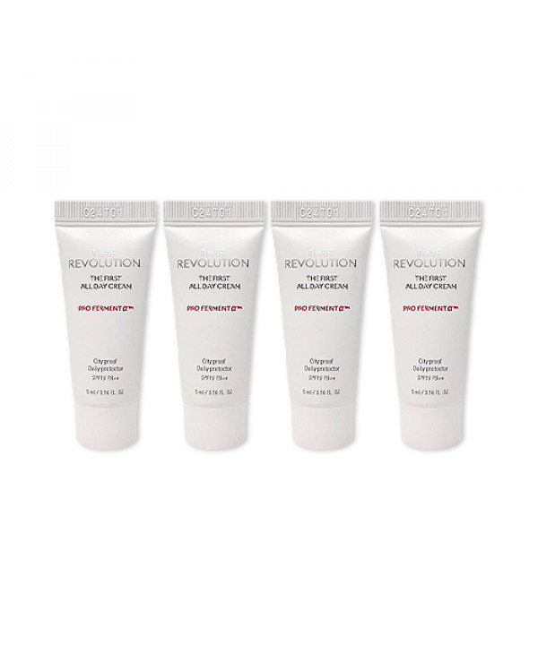 [MISSHA_Sample] Time Revolution The First All Day Cream Samples - 5ml x 4ea (SPF16 PA++)