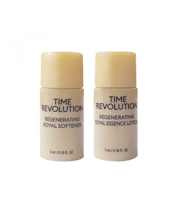 [MISSHA_Sample] Time Revolution Regenerating Royal Special Kit Sample - 1pack (2items)
