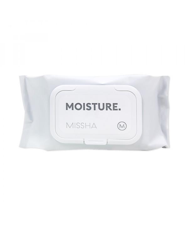 [MISSHA_Sample] Moisture Wet Tissue Sample (2020) - 1pack (80pcs)