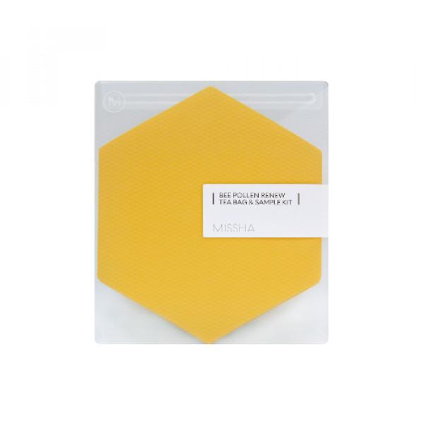 [MISSHA_Sample] Bee Pollen Renew Tea Bag & Sample Kit - 1pack (2items)