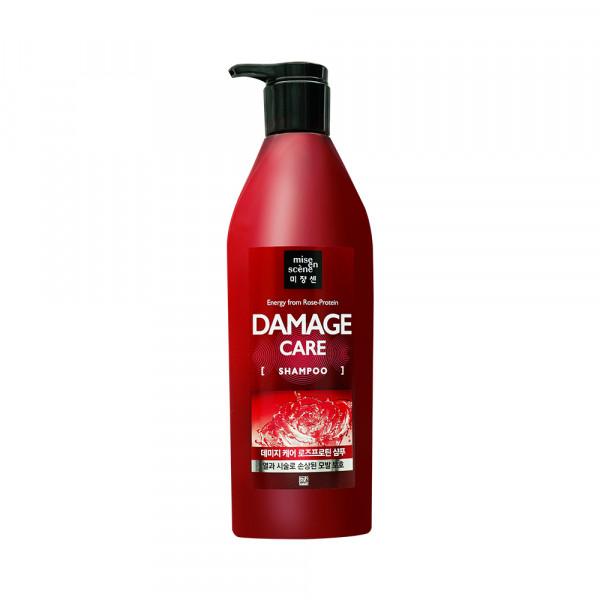 [Mise En Scene] Damage Care Rose Protein Shampoo - 680ml