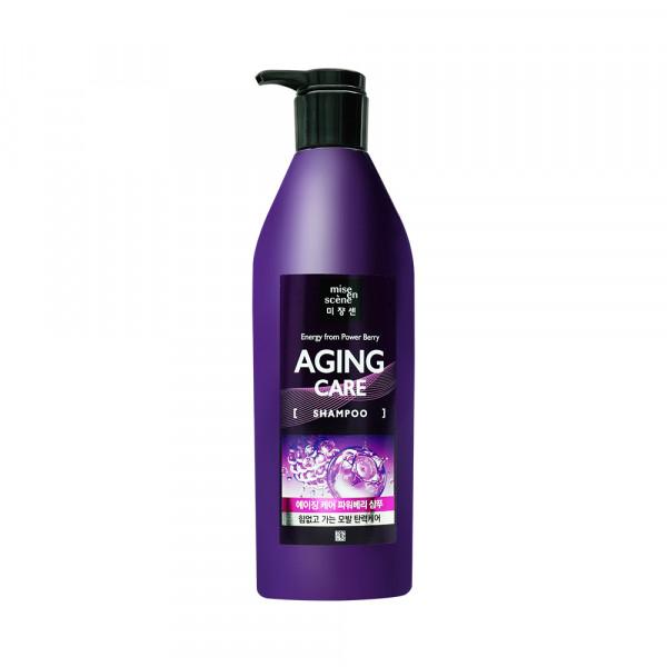 [Mise En Scene] Aging Care Power Berry Shampoo - 680ml