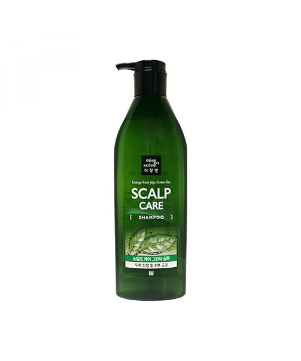 [Mise En Scene] Scalp Care Jeju Green Tea Shampoo - 680ml