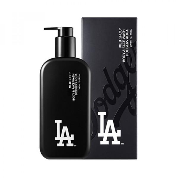 [MLB] Groo Body & Face Wash Dodgers Aqua - 300ml