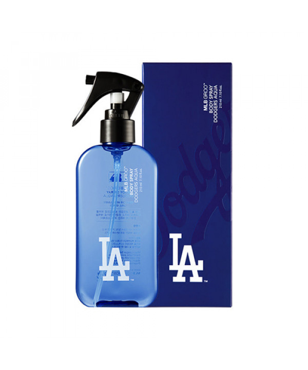 [MLB] Groo Body Spray Dodgers Aqua - 210ml