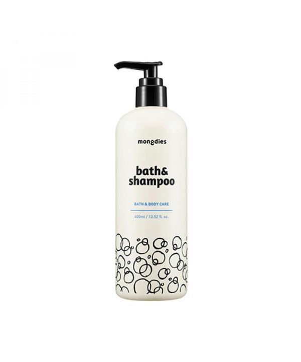[MONGDIES] Bath & Shampoo - 400ml(EXP 2021.08.28)