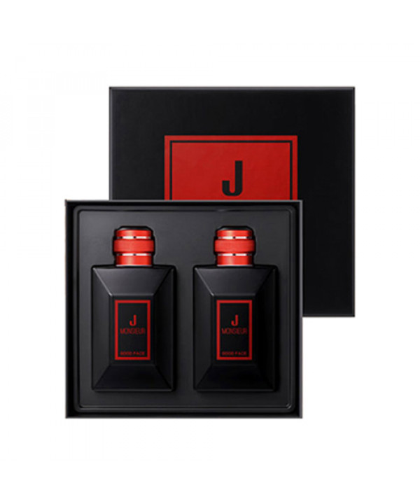 [MONSIEUR J] Good Face All In One Red Edition Set - 1pack (2pcs)
