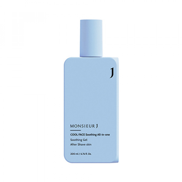 [MONSIEUR J] Cool Face Soothing All In One - 200ml