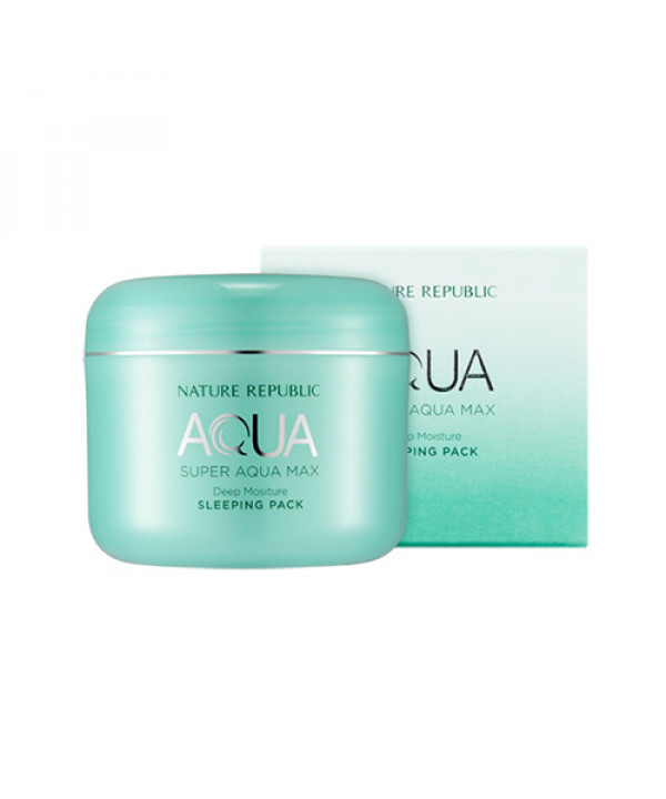 [NATURE REPUBLIC] Super Aqua Max Deep Moisture Sleeping Pack - 100ml (New)